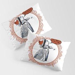 Off With Her Head! - Queen Of Hearts - Alice In Wonderland Pillow Sham