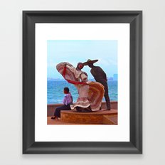 The Other Woman Framed Art Print