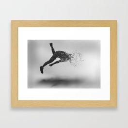 Combustion of Form Framed Art Print