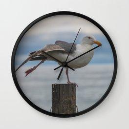 Yoga Gull Wall Clock