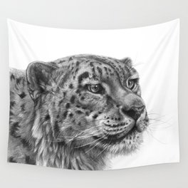 Snow Leopard G095 Wall Tapestry
