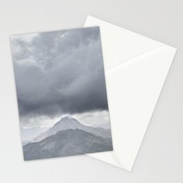 Yesterday. Misty mountains Stationery Cards