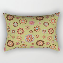 Grunge Bop Rectangular Pillow