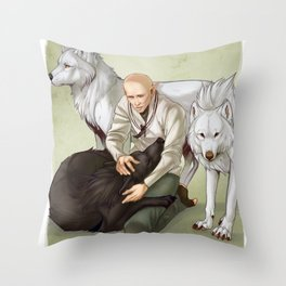 In Hushed Whispers Throw Pillow
