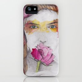You will discover me, through the art iPhone Case