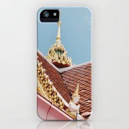 Thai Temple Roof iPhone Case