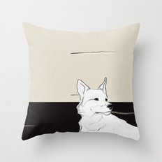 Lost Dog Throw Pillow