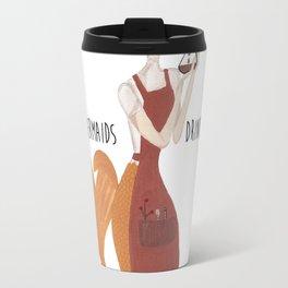 Coffee Mermaid by Ashley Nada Travel Mug