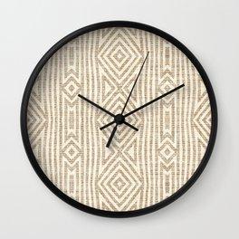 KALI RUSTIC STRIPE Wall Clock