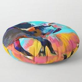 Texas Longhorn Floor Pillow