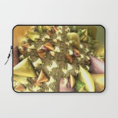 Christmas Glass Ribbons Laptop Sleeve