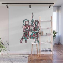 friendship Wall Mural