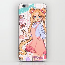 Sailor Moon sweets iPhone Skin