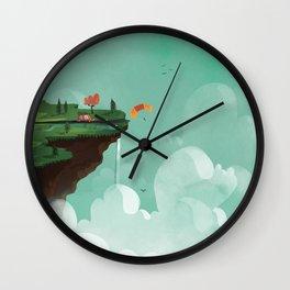 Edge of the World Wall Clock