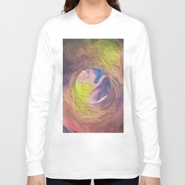 Abstract Mandala 328 Long Sleeve T-shirt
