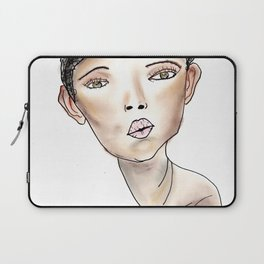 Bonnie in White Laptop Sleeve