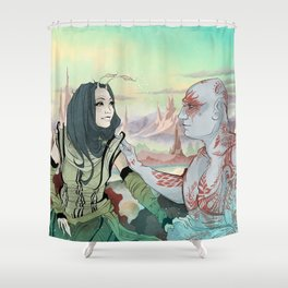 Beautiful on the Inside Shower Curtain