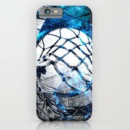 Basketball art swoosh vs 46 iPhone Case