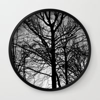 stark Wall Clocks featuring Stark by MLauxDesign