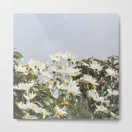 Embrace a bouquet of flowers Metal Print