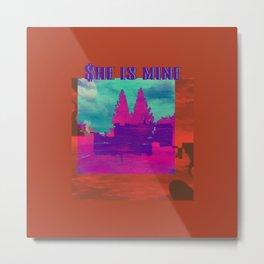 INVSBL: she is mine Metal Print
