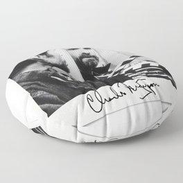 Manson Charles Signature Movie Floor Pillow