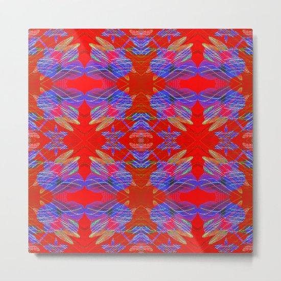 Pattern F Metal Print