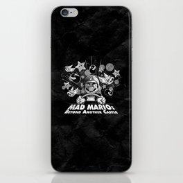 Mad Mario: Beyond Another Castle iPhone Skin