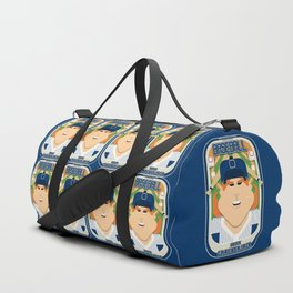 Baseball Blue Pinstripes - Deuce Crackerjack - Jacqui version Duffle Bag