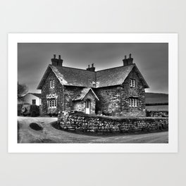 House @ Gunwaloe Art Print