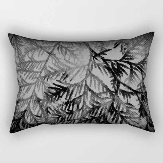 Tree | Trees | Beyond The Trees | Cedar Branches Rectangular Pillow