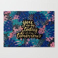 Today & Tomorrow Canvas Print
