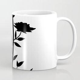 Climbing black roses Coffee Mug
