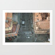 Above Via Rizzoli Art Print