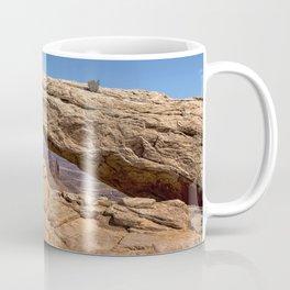 Clear Day at Mesa Arch - Canyonlands National Park Coffee Mug