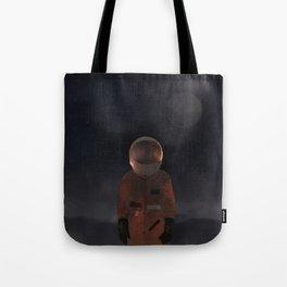 marooned astronaut Tote Bag