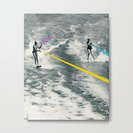 Competitive Strategy Metal Print