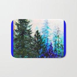 BLUE MOUNTAIN  PINE FOREST LANDSCAPE Bath Mat