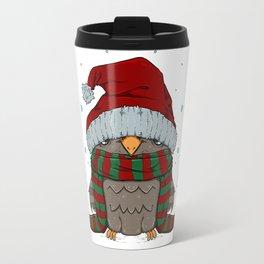 Winter Owly Travel Mug