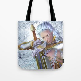 Frozen in thought Tote Bag