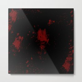 Blood Metal Print