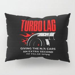 Funny Turbo Lag Car Boost Racing Pillow Sham