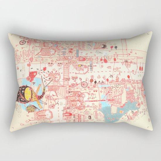 Stranger Rectangular Pillow