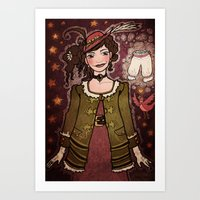Birdsong and Knickers Art Print