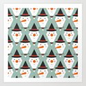 Snowmen Meltdown (Patterns Please) by lalainelim