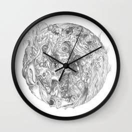 To Cultivate Dreams Wall Clock