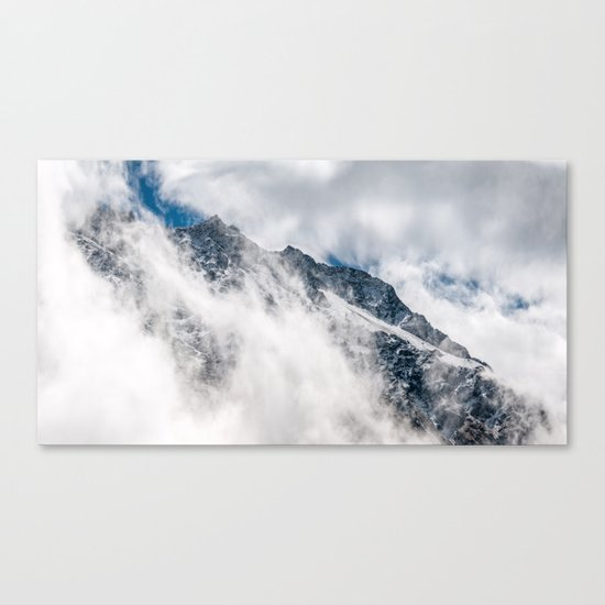 Misty Mountain II Canvas Print