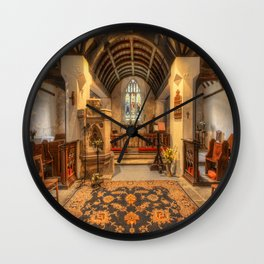 St Peris Church Wall Clock