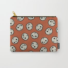 Skull Pattern (ORANGE) Carry-All Pouch
