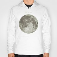astronomy Hoodies featuring The Moon  by Terry Fan